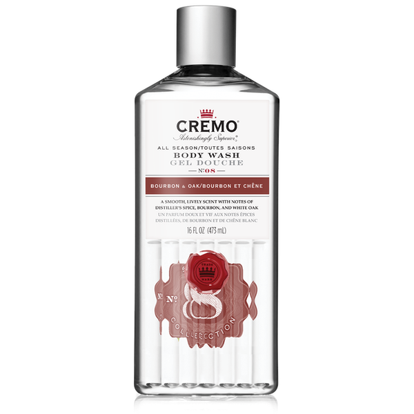 Bourbon and Oak. Silver Water & Birch. Citrus and Mint Leaf. These are some of the Good Uncommon Scents you can enjoy with Cremo Body Wash. Upgrade your shower today.
