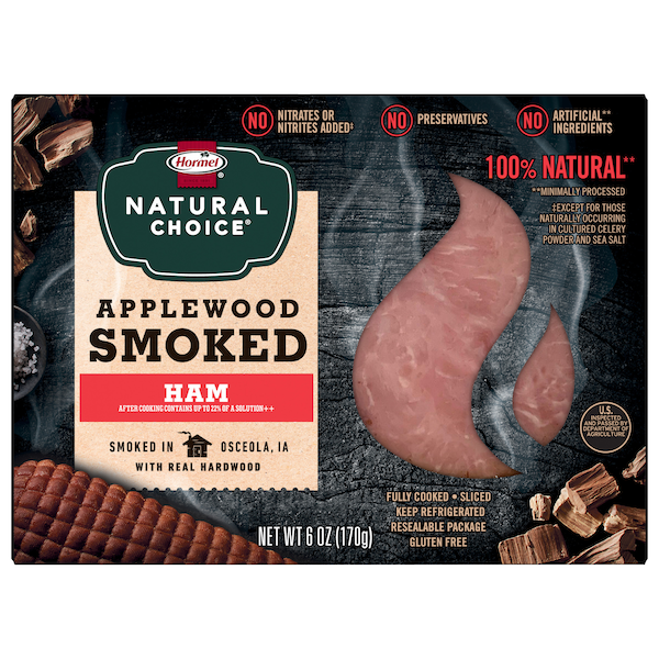 HORMEL® NATURAL CHOICE® meats are made with no preservatives, no artificial ingredients*, and no nitrates or nitrates added** so you can always trust their delicious taste is100% natural.  *minimally processed **except for those naturally occurring in cultured celery powder and sea salt