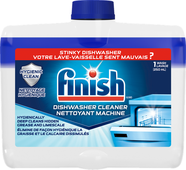 Effectively  deep cleans limescale and grease buildup in hidden parts of your dishwasher to eliminate odours and performance issues.