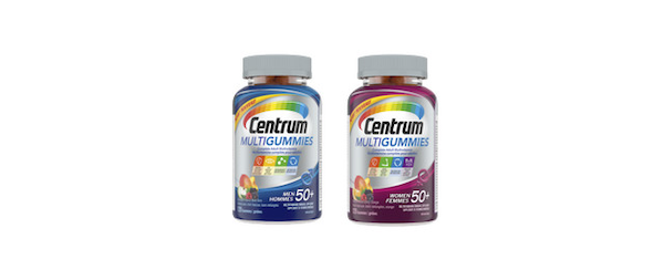 Introducing Centrum MultiGummies Women and Men 50+, multivitamins for adults over 50 years old in delicious gummies!
