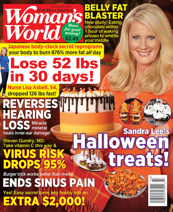 Woman's World is America's #1 best-selling weekly women's magazine, delivering easy solutions for every part of your life! Each issue is packed with delicious recipes, health and nutrition advice, beauty and fashion tips and heartwarming stories. It's your guide to a great week made easy!