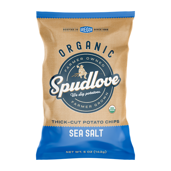 5 oz. variety of SpudLove Thick-Cut Potato Chips