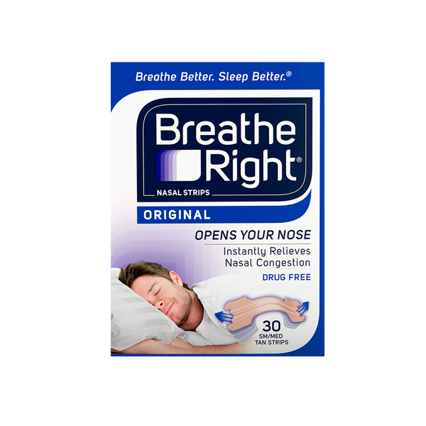 Whether your stuffy nose is caused by allergies, a cold, or a deviated septum, Breathe Right® nasal strips can help provide instant relief.