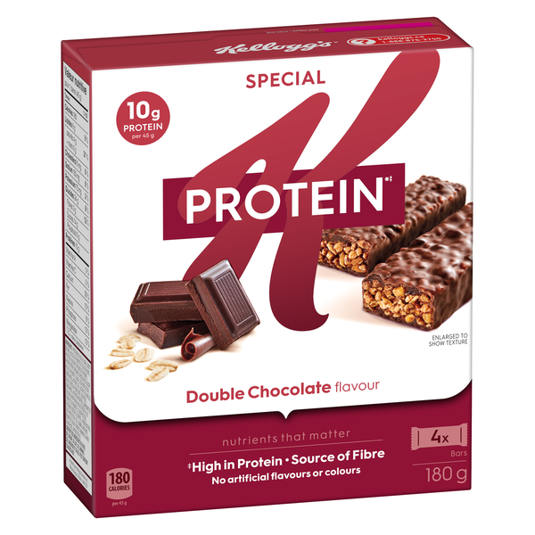 """What's the """"it"""" you're try to prove? Special K Protein* bars are high in protein+ and help you get energy+ you need - no matter what your """"it"""" is.  +Special K Protein* bars are a source of energy."""
