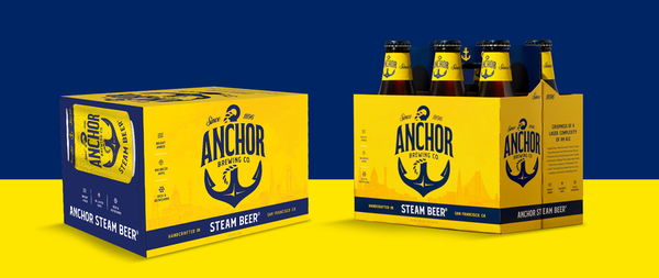 Crack open the refreshingly original taste of Anchor Steam Beer. Handcrafted since 1896, it's as crisp as a lager and as complex as an ale.