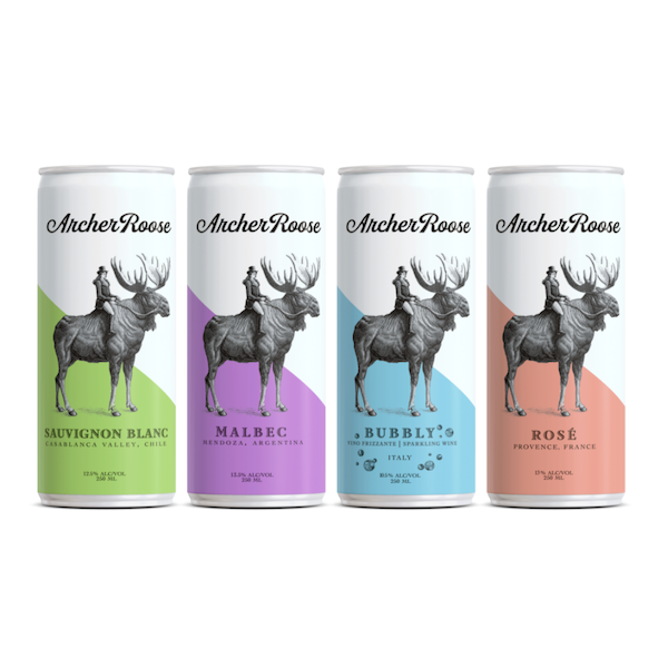 Sourced from the finest regions around the world, our planet-friendly, luxury canned wines are as well-suited for fine dining as they are for adventuring. Explore each of our varieties: Bubbly, Rose, Sauvignon Blanc, Malbec Available in 250mL individual cans and 4-pack.